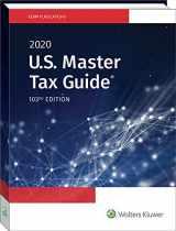 9780808047797-0808047795-U.S. Master Tax Guide (2020)