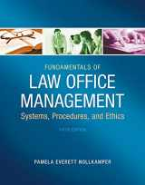 9781133280842-1133280846-Fundamentals of Law Office Management