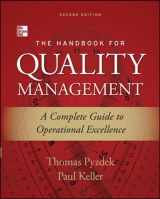 9780071799249-0071799249-The Handbook for Quality Management, Second Edition: A Complete Guide to Operational Excellence