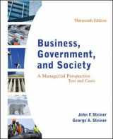 9780078112676-0078112672-Business, Government, and Society: A Managerial Perspective, Text and Cases, 13th Edition