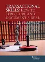 9781642426083-1642426083-Transactional Skills: How to Structure and Document a Deal (Coursebook)