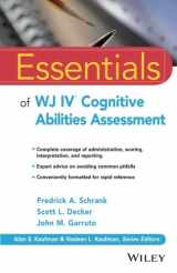 9781119163367-1119163366-Essentials of WJ IV Cognitive Abilities Assessment (Essentials of Psychological Assessment)