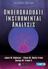 9781420061352-1420061356-Undergraduate Instrumental Analysis, Seventh Edition