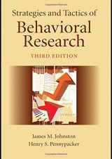 9780805858822-0805858822-Strategies and Tactics of Behavioral Research