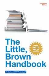 9780134586335-0134586336-The Little Brown Handbook, MLA Update Edition (13th Edition)