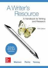 9781259988578-1259988570-A Writer's Resource 5e MLA 2016 UPDATE