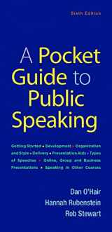 9781319102784-1319102786-A Pocket Guide to Public Speaking
