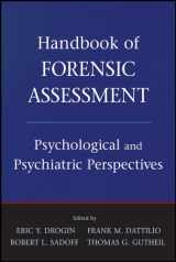 9780470484050-0470484055-Handbook of Forensic Assessment: Psychological and Psychiatric Perspectives