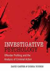 9780470023976-047002397X-Investigative Psychology: Offender Profiling and the Analysis of Criminal Action