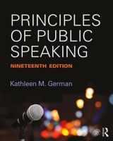 9781138233898-1138233897-Principles of Public Speaking