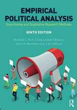 9781138088764-1138088765-Empirical Political Analysis: An Introduction to Research Methods