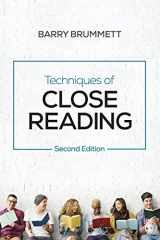 9781544305257-1544305257-Techniques of Close Reading (NULL)