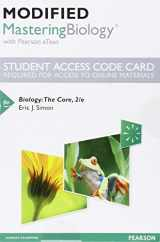 9780134287881-0134287886-Modified MasteringBiology with Pearson eText -- Standalone Access Card -- for Biology: The Core (2nd Edition)