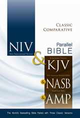 9780310436768-0310436761-NIV, KJV, NASB, Amplified, Classic Comparative Parallel Bible, Hardcover: The World's Bestselling Bible Paired with Three Classic Versions