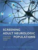 9781569004661-1569004668-Screening Adult Neurologic Populations