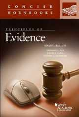 9781634596497-1634596498-Principles of Evidence (Concise Hornbook Series)