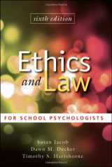 9780470579060-0470579064-Ethics and Law for School Psychologists