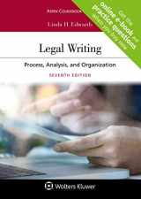 9781454895916-1454895918-Legal Writing: Process, Analysis, and Organization (Aspen Coursebook)
