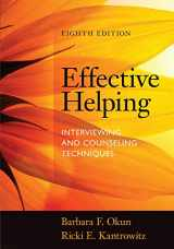 9781285161594-1285161599-Effective Helping: Interviewing and Counseling Techniques