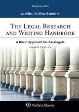The Legal Research and Writing Handbook: A Basic Approach for Paralegals (Aspen Paralegal)