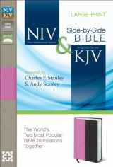9780310439356-0310439353-NIV, KJV, Parallel Bible, Large Print, Leathersoft, Pink/Brown: The World's Two Most Popular Bible Translations Together