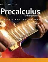 9781465212139-1465212132-Precalculus With Trigonometry + Flourish, 6-year Access: Concepts and Applications