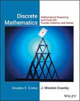 9780471760979-0471760978-Discrete Mathematics, Student Solutions Manual: Mathematical Reasoning and Proof with Puzzles, Patterns, and Games