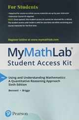 MyMathLab -- with Pearson eText -- Standalone Access Card -- for Using and Understanding Mathematics (6th Edition)