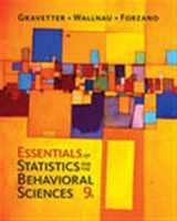 9781337098120-1337098124-Essentials of Statistics for The Behavioral Sciences