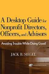 9780471768128-047176812X-A Desktop Guide for Nonprofit Directors, Officers, and Advisors: Avoiding Trouble While Doing Good