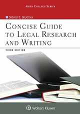 9781454873341-1454873345-Concise Guide To Legal Research and Writing (Aspen College)