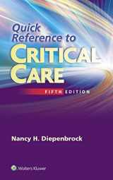 9781451194265-1451194269-Quick Reference to Critical Care