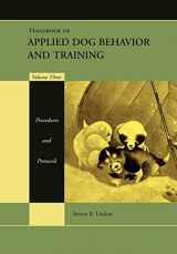 9780813807386-0813807387-Handbook of Applied Dog Behavior and Training, Vol. 3: Procedures and Protocols
