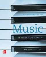 9780077493332-0077493338-Workbook to accompany Music in Theory and Practice, Volume 2
