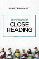 9781544305257-1544305257-Techniques of Close Reading