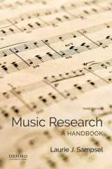 9780190644505-0190644508-Music Research: A Handbook