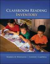 9780078110252-0078110254-Classroom Reading Inventory