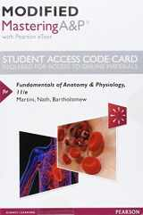 9780134509181-0134509188-Modified MasteringA&P with Pearson eText -- Standalone Access Card -- for Fundamentals of Anatomy & Physiology (11th Edition)