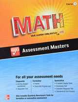 9780076623273-0076623270-Glencoe Math, Assessment Masters, CCSS Common Core Edition, Course 1