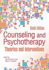 9781556203541-1556203543-Counseling and Psychotherapy: Theories and Interventions (6th Edition)