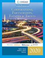 9780357109168-0357109163-South-Western Federal Taxation 2020: Corporations, Partnerships, Estates and Trusts (with Intuit ProConnect Tax Online & RIA Checkpoint, 1 term (6 months) Printed Access Card)