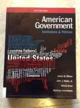 9781305500068-1305500067-American Government: Institutions and Polices 15th edition, AP edition
