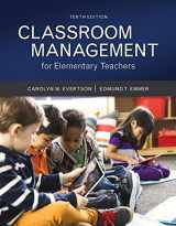 9780134027272-0134027272-Classroom Management for Elementary Teachers with MyLab Education with Enhanced Pearson eText, Loose-Leaf Version -- Access Card Package (10th Edition) (What's New in Ed Psych / Tests & Measurements)
