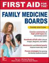 9781259835018-1259835014-First Aid for the Family Medicine Boards, Third Edition (1st Aid for the Family Medicine Boards)