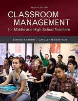 9780134027302-0134027302-Classroom Management for Middle and High School Teachers with MyLab Education with Enhanced Pearson eText, Loose-Leaf Version -- Access Card Package ... New in Ed Psych / Tests & Measurements)