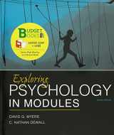 9781464154362-1464154368-Loose-Leaf Version for Exploring Psychology in Modules