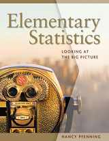 9780495016526-0495016527-Elementary Statistics: Looking at the Big Picture (Available 2011 Titles Enhanced Web Assign)
