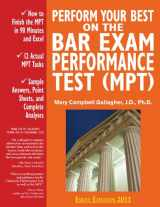 9780970608833-0970608837-Perform Your Best on the Bar Exam Performance Test (MPT): Train to Finish the MPT in 90 Minutes, Like a Sport(TM)