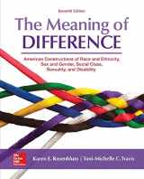 The Meaning of Difference: American Constructions of Race and Ethnicity, Sex and Gender, Social Class, Sexuality, and Disability