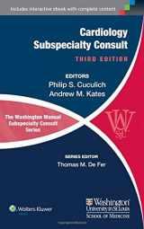 9781451114225-1451114222-The Washington Manual of Cardiology Subspecialty Consult (The Washington Manual Subspecialty Consult Series)